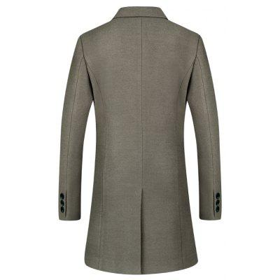 In The Long Section of The Men A Button Solid Color Woolen CoatMens Jackets &amp; Coats<br>In The Long Section of The Men A Button Solid Color Woolen Coat<br><br>Closure Type: Single Breasted<br>Clothes Type: Wool &amp; Blends<br>Collar: Turn-down Collar<br>Color Style: Solid<br>Detachable Part: None<br>Hooded: No<br>Materials: Acrylic, Polyester<br>Package Content: 1 ? coat<br>Package size (L x W x H): 1.00 x 1.00 x 1.00 cm / 0.39 x 0.39 x 0.39 inches<br>Package weight: 1.0000 kg<br>Pattern Type: Solid<br>Size1: M,L,XL,2XL,3XL<br>Sleeve Style: Regular<br>Style: Classic<br>Thickness: Medium thickness