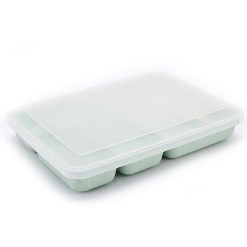 Buy Lunch Box Seal Adult Microwave Portable Food Container LIGHT GREEN