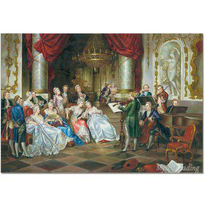 Europe Classical Palace Nobel High Definition Printing Painting On - Painting definition