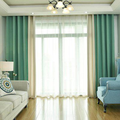 Modern Solid Color Cotton Linen Blackout Curtains For Living Room Window  Curtains For The Bedroom Curtains ...