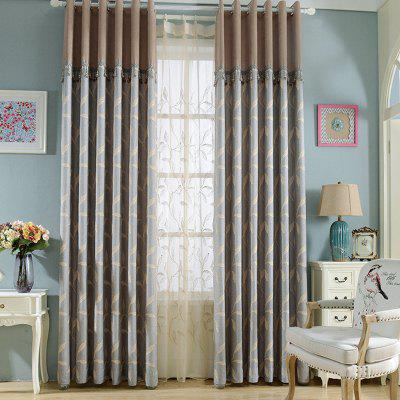 European Simple Cotton Linen Blackout Curtains For Living Room Window  Curtains For The Bedroom ...
