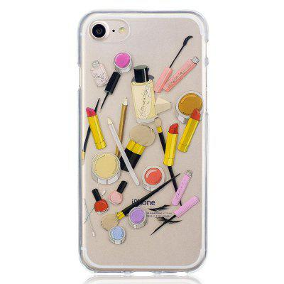 Cosmetics HD TPU Case for iPhone 7iPhone Cases/Covers<br>Cosmetics HD TPU Case for iPhone 7<br><br>Features: FullBody Cases<br>Material: TPU<br>Package Contents: 1 x Phone Case<br>Package size (L x W x H): 16.00 x 5.00 x 2.00 cm / 6.3 x 1.97 x 0.79 inches<br>Package weight: 0.0100 kg<br>Style: Animal, Cartoon, Anime