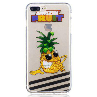 for iPhone 8 Plus Pineapple Pattern Painted High Penetration TPU Material IMD Process Soft Case Phone CaseiPhone Cases/Covers<br>for iPhone 8 Plus Pineapple Pattern Painted High Penetration TPU Material IMD Process Soft Case Phone Case<br><br>Features: FullBody Cases<br>Material: TPU<br>Package Contents: 1 x Phone Case<br>Package size (L x W x H): 16.00 x 6.00 x 3.00 cm / 6.3 x 2.36 x 1.18 inches<br>Package weight: 0.0100 kg<br>Style: Animal, Cartoon, Anime