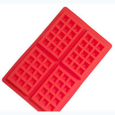 Silicone Waffle Pine Cake Cake Mold Baking Tools DIY Cake 4 Even Square Oven