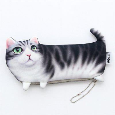Creative Cute Simulation of Mini Black Cat Multi-Function Collection Bag