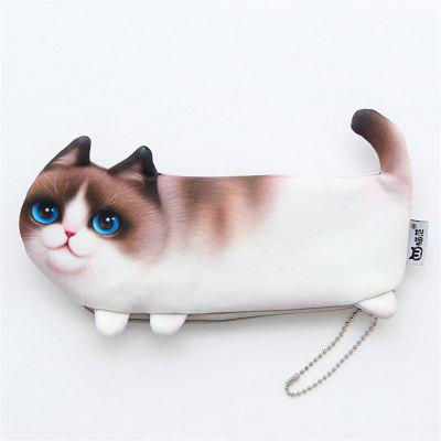 Creative Cute Cat Picture Multi-Function Collection Bag