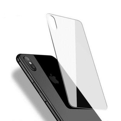 For iPhone X Back Tempered Glass Screen Protector