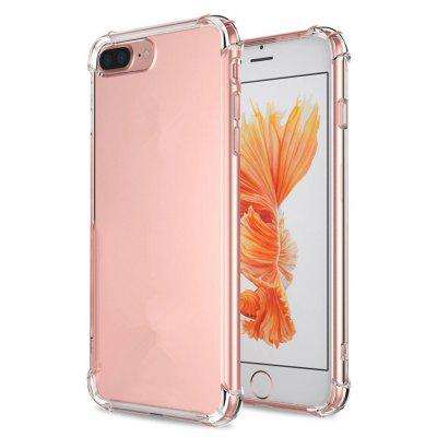 Crystal Clear Shock Absorption Technology Bumper Soft TPU Cover Case for iPhone 7 Plus / 8 Plus