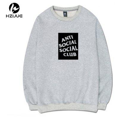 ASSC Trend Printed  Round Collar SweatshirtMens Hoodies &amp; Sweatshirts<br>ASSC Trend Printed  Round Collar Sweatshirt<br><br>Material: Cotton<br>Package Contents: 1xSweatshirt<br>Shirt Length: Regular<br>Sleeve Length: Full<br>Style: Casual<br>Weight: 0.5000kg