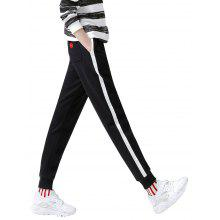 Toyouth Women's Casual Cotton Full Length Harem Pants
