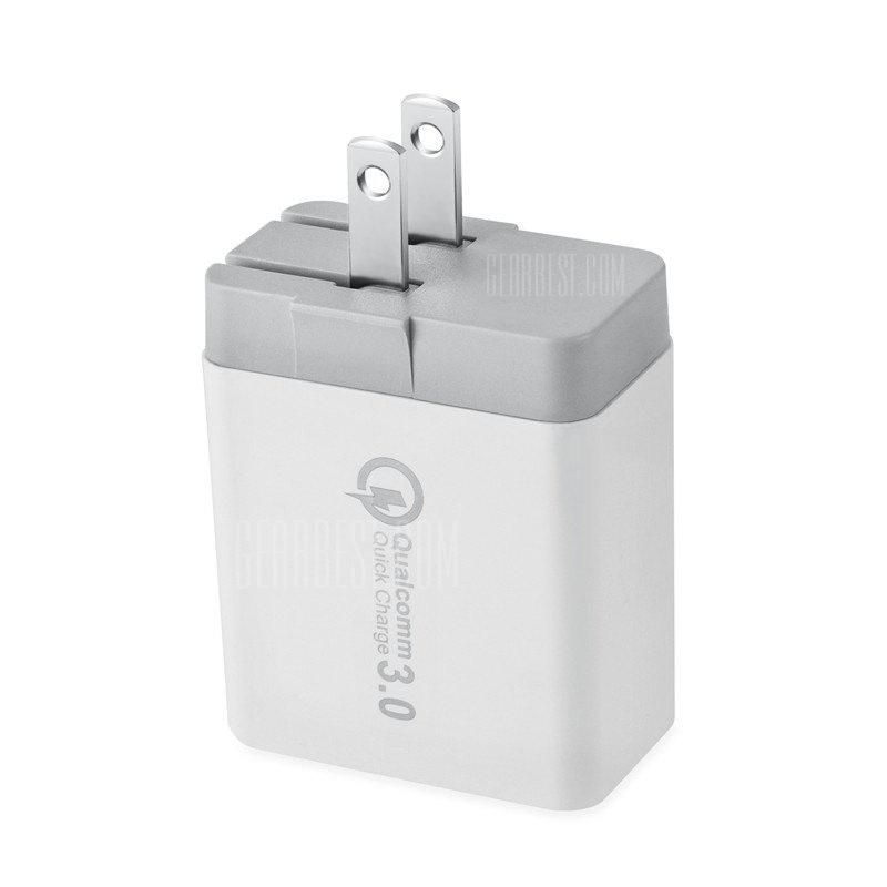 """""""Spedcrd 3 Ports Quick Charger QC 3.0 30W USB Fast Charger"""""""