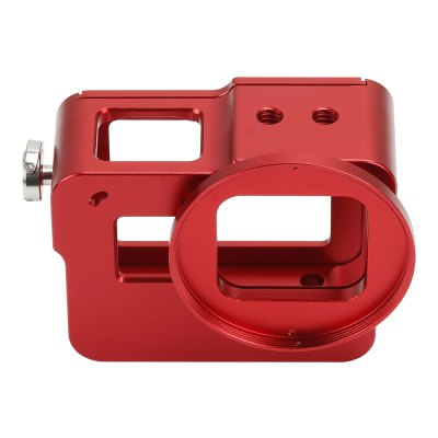 Aluminum Shell Sport Camera Case Dog Cage for GoPro5Action Cameras &amp; Sport DV Accessories<br>Aluminum Shell Sport Camera Case Dog Cage for GoPro5<br><br>Accessory type: Camera Lens Cover, Tethers, Replacement Parts, Protective Cases/Housing, Lens Cover, Frame, Filters<br>Apply to Brand: Gopro<br>Compatible with: GoPro Hero 5<br>For Activity: Universal, Snowboarding, SkyDiving, Skate, Rock Climbing, Radio Control, Motocycle, Bike, Aviation<br>Material: Alluminum Alloy<br>Package Contents: 1 x Protective Shell,1 x Lens Cap,1 x UV Mirror,1 x Rope<br>Package size (L x W x H): 9.00 x 7.00 x 5.50 cm / 3.54 x 2.76 x 2.17 inches<br>Package weight: 0.1680 kg