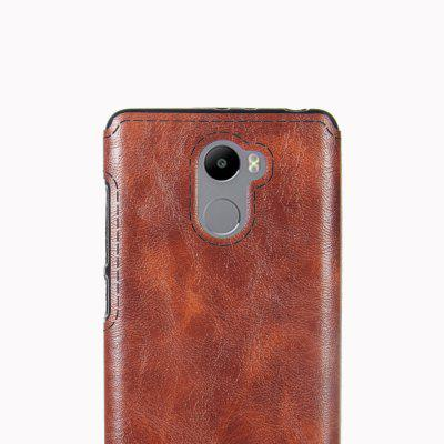 Crazy Horse Pattern PU Leather Soft TPU Back Case for Xiaomi Redmi 4Cases &amp; Leather<br>Crazy Horse Pattern PU Leather Soft TPU Back Case for Xiaomi Redmi 4<br><br>Material: PU Leather, TPU<br>Package Contents: 1 x Phone Case<br>Package size (L x W x H): 20.00 x 20.00 x 5.00 cm / 7.87 x 7.87 x 1.97 inches<br>Package weight: 0.0400 kg<br>Product weight: 0.0200 kg
