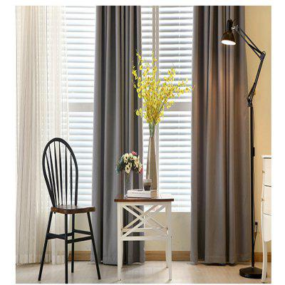 Thickened shading curtain Insulated finished curtainWindow Treatments<br>Thickened shading curtain Insulated finished curtain<br><br>Crafts: Yarn Dyed<br>Curtain Pattern: Solid<br>Curtain Style: Casual<br>Curtain Type: Curtains Drapes<br>Package Contents: 1xCurtain<br>Package size (L x W x H): 40.00 x 30.00 x 5.00 cm / 15.75 x 11.81 x 1.97 inches<br>Package weight: 0.7100 kg<br>Top Construction: Grommet Top<br>Type: Curtain