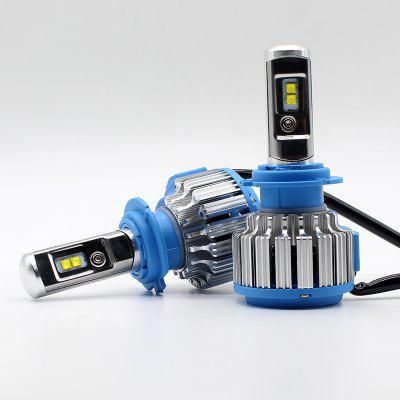 H7 70W  LED Car Fog Headlight Kit Canbus Error Free 7000k White 7200LM