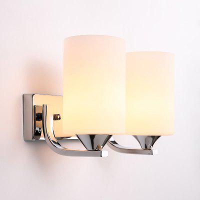 Ever-Flower 2 Head Modern Indoor Wall Lamps Glass Shape E27 Bulb Base for Bedroom Living Room HallwayWall Lights<br>Ever-Flower 2 Head Modern Indoor Wall Lamps Glass Shape E27 Bulb Base for Bedroom Living Room Hallway<br><br>Brand: Ever-Flower<br>Bulb Base: E27<br>Bulb Included: No<br>Finish: Electroplating<br>Fixture Material: Metal<br>Light Direction: Ambient Light<br>Number of Bulbs: 2<br>Overall Depth ( CM ): 20<br>Overall Height ( CM ): 20<br>Overall Width ( CM ): 28<br>Package Contents: 1 x Lamp Body, 1 x Fittings Bag<br>Package size (L x W x H): 30.00 x 30.00 x 22.00 cm / 11.81 x 11.81 x 8.66 inches<br>Package weight: 0.9000 kg<br>Power Supply: AC<br>Product size (L x W x H): 20.00 x 28.00 x 20.00 cm / 7.87 x 11.02 x 7.87 inches<br>Product weight: 0.5000 kg<br>Selling Point: Mini Style<br>Shade Material: Glass<br>Style: Modern/Contemporary, Simple<br>Suggested Room Size: 15 - 20 Square Meters<br>Type: Wall Sconces<br>Voltage: 220V-240V<br>Wattage per Bulb ( W ): 60