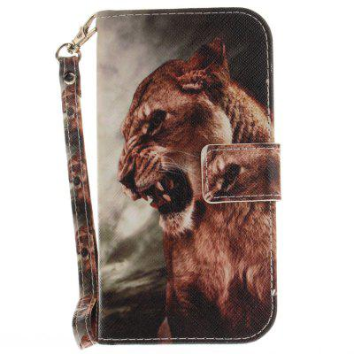 Cover Case for LG K10 A Male Lion PU+TPU Leather with Stand and Card Slots Magnetic ClosureCases &amp; Leather<br>Cover Case for LG K10 A Male Lion PU+TPU Leather with Stand and Card Slots Magnetic Closure<br><br>Compatible Model: LG K10<br>Features: Anti-knock, Cases with Stand, Full Body Cases, With Credit Card Holder, With Lanyard<br>Mainly Compatible with: LG<br>Material: TPU, PU Leather<br>Package Contents: 1 x Phone Case<br>Package size (L x W x H): 17.00 x 7.00 x 1.00 cm / 6.69 x 2.76 x 0.39 inches<br>Package weight: 0.0600 kg<br>Product Size(L x W x H): 16.00 x 6.00 x 1.00 cm / 6.3 x 2.36 x 0.39 inches<br>Product weight: 0.0500 kg<br>Style: Animal, Pattern
