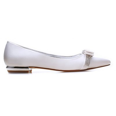 5047-2 Womens Shoes Wedding ShoesWomens Flats<br>5047-2 Womens Shoes Wedding Shoes<br><br>Available Size: 36 37 38 39 40 41 42 43<br>Closure Type: Slip-On<br>Embellishment: Metal<br>Flat Type: Ballet Flats<br>Gender: For Women<br>Heel Height: 1.5CM<br>Heel Height Range: Flat(0-0.5)<br>Insole Material: PU<br>Lining Material: PU<br>Occasion: Wedding<br>Outsole Material: Rubber<br>Package Contents: 1 x Shoes (Pair)<br>Package size (L x W x H): 32.00 x 13.00 x 10.00 cm / 12.6 x 5.12 x 3.94 inches<br>Package weight: 0.6000 kg<br>Pattern Type: Floral<br>Season: Spring/Fall, Winter, Summer<br>Shoe Width: Medium(B/M)<br>Toe Shape: Pointed Toe<br>Toe Style: Closed Toe<br>Upper Material: Satin