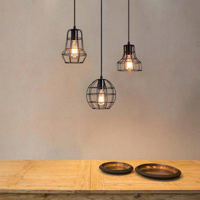 Industrial Ceiling Light Fixture Retro Pendant Lamps For Office Room Living Dining Bedrooms
