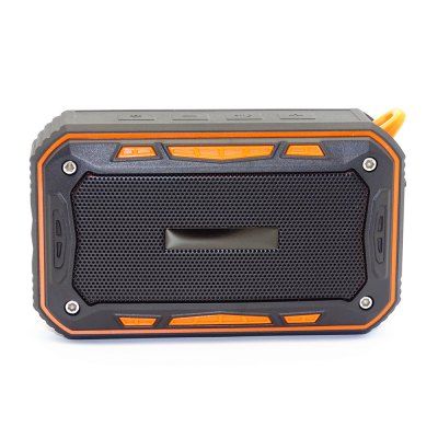 S618 Portable Outdoors Waterproof Bluetooth Sound BoxSpeakers<br>S618 Portable Outdoors Waterproof Bluetooth Sound Box<br><br>Audio File Format: APE, MP3, WAV, WMA, FLAC<br>Audio Source: TF/Micro SD Card,Electronic Products with 3.5mm Plug,Bluetooth Enabled Devices<br>Battery Capacity: 2000mAh<br>Battery Voltage: 5V<br>Bluetooth Version: Bluetooth 4.1<br>Charging Time: 3 - 4 hours<br>Compatible with: TF/Micro SD Card, iPhone, PC<br>Connection: Wireless<br>Design: Sport<br>Features: Subwoofer<br>Functions: AUX Function, Waterproof<br>Interface: AUX, TF Card Slot, Micro USB<br>Package Contents: 1 x Sound Box, 1 x 3.5mm AUX Input Line, 1 x Charging Line, 1 x Metal Hook, 1 x 1 / 4 Bicycle Bracket, 1 x English Manual<br>Package size (L x W x H): 19.00 x 11.00 x 6.00 cm / 7.48 x 4.33 x 2.36 inches<br>Package weight: 0.4050 kg<br>Power Output: 6W<br>Power Source: USB<br>Product size (L x W x H): 12.50 x 7.60 x 4.50 cm / 4.92 x 2.99 x 1.77 inches<br>Product weight: 0.3200 kg<br>Supports: FM, Bluetooth, Waterproof, TF Card Music Playing, Hands-free Calls<br>Working Time: 8 hours