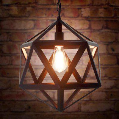 Buy BLACK LOFT Nordic Iron Industry Vintage Home Decor Pendant Light Fixtures Restaurant DD-38 for $48.99 in GearBest store
