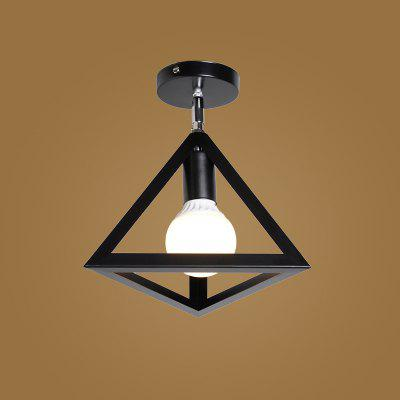 LOFT Nordic Iron Industry Vintage Home Decor Flush Mount Ceiling Light Fixtures Restaurant DD-50Flush Ceiling Lights<br>LOFT Nordic Iron Industry Vintage Home Decor Flush Mount Ceiling Light Fixtures Restaurant DD-50<br><br>Battery Included: No<br>Bulb Base: E27<br>Bulb Included: No<br>Chain / Cord Adjustable or Not: Chain / Cord Not Adjustable<br>Decoration Material: Metal<br>Features: Designers, Wrought Iron<br>Fixture Height ( CM ): 25<br>Fixture Length ( CM ): 25<br>Fixture Material: Metal<br>Fixture Width ( CM ): 25<br>Light Direction: Ambient Light<br>Number of Bulb Sockets: 1<br>Package Contents: 1 x Ceiling Light, 1 x Assembly Part<br>Package size (L x W x H): 27.00 x 27.00 x 25.00 cm / 10.63 x 10.63 x 9.84 inches<br>Package weight: 0.9500 kg<br>Product size (L x W x H): 25.00 x 25.00 x 25.00 cm / 9.84 x 9.84 x 9.84 inches<br>Product weight: 0.8000 kg<br>Shade Material: Metal<br>Style: Simple Style, Country<br>Suggested Room Size: 10 - 15?<br>Suggested Space Fit: Cafes,Dining Room,Indoors,Kitchen,Living Room,Office<br>Type: Flush Mount