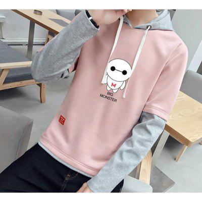 Young Slim Stitching HoodieMens Hoodies &amp; Sweatshirts<br>Young Slim Stitching Hoodie<br><br>Material: Polyester<br>Package Contents: 1x Hoodie<br>Shirt Length: Regular<br>Sleeve Length: Full<br>Style: Casual<br>Weight: 0.4000kg