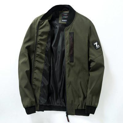 Young Fashion Stand-Collar Jacket