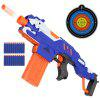 New Electric Burst of Soft Bullet Rifle Gun Toy for Kids Outdoor Shooting Game - BLUE