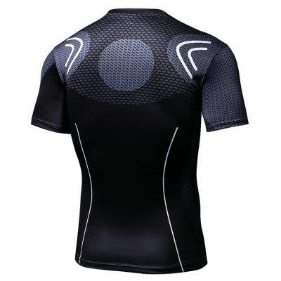 Mens Wear Style Short-Sleeved T-shirtMens T-shirts<br>Mens Wear Style Short-Sleeved T-shirt<br><br>Collar: Round Neck<br>Material: Polyester<br>Package Contents: 1 x T-shirt<br>Pattern Type: Print<br>Sleeve Length: Short Sleeves<br>Style: Casual<br>Weight: 0.2000kg