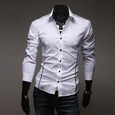 MenS Personal Edge Fashion Casual Long-Sleeved ShirtsMens Shirts<br>MenS Personal Edge Fashion Casual Long-Sleeved Shirts<br><br>Collar: Turn-down Collar<br>Material: Cotton, Cotton Blends<br>Package Contents: 1xShirt<br>Shirts Type: Casual Shirts<br>Sleeve Length: Full<br>Weight: 0.1200kg