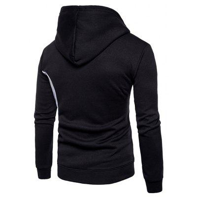 MenS Casual Sport Fashion - Style Outfit with A HeaddressMens Hoodies &amp; Sweatshirts<br>MenS Casual Sport Fashion - Style Outfit with A Headdress<br><br>Material: Cotton Blends<br>Package Contents: 1xHoodie<br>Shirt Length: Regular<br>Sleeve Length: Full<br>Style: Fashion<br>Weight: 0.3900kg