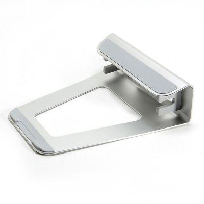 2 In 1 Function Aluminum Alloy Firm Bracket for Macbook Air Pro Retina 15 Vertical Base Stand for IPAD PC Cooling Stand