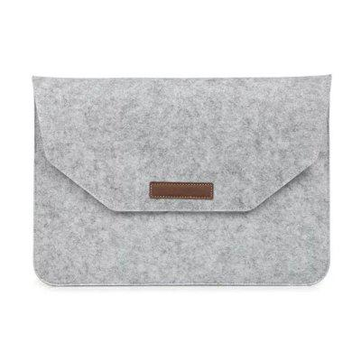 Buy WHITE Cloth Sleeve Laptop Sleeve Notebook Bag Pouch Case for Macbook Air 13.3 Inch Unisex Liner Sleeve for Xiaomi Air for $7.28 in GearBest store