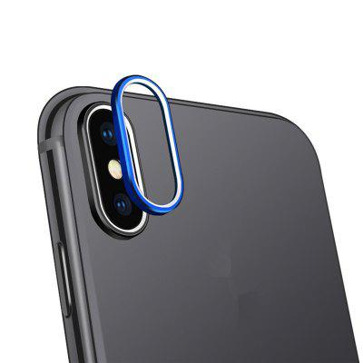 Anel para iPhone X Rear Camera Metal Lens Circle Protector