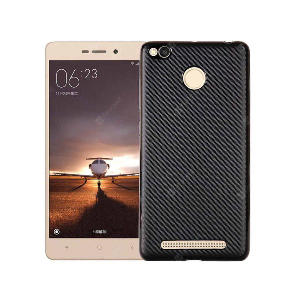Funda para Redmi 3S / 3Pro Soft Carbon Fibre Luxury TPU