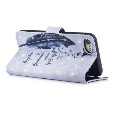 Cover Case for iPhone 7 / 8 3D Effect Painted PU LeatheriPhone Cases/Covers<br>Cover Case for iPhone 7 / 8 3D Effect Painted PU Leather<br><br>Compatible for Apple: iPhone 7, iPhone 8<br>Features: Cases with Stand, With Credit Card Holder, Anti-knock, Dirt-resistant, FullBody Cases<br>Material: TPU, PU Leather<br>Package Contents: 1 x Phone Case<br>Package size (L x W x H): 20.00 x 10.00 x 3.00 cm / 7.87 x 3.94 x 1.18 inches<br>Package weight: 0.0620 kg<br>Product weight: 0.0540 kg<br>Style: Pattern