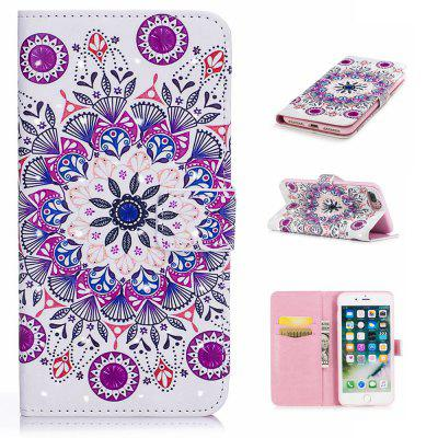 Cover Case for iPhone 7 Plus / 8 Plus 3D Effect Painted PU Leather