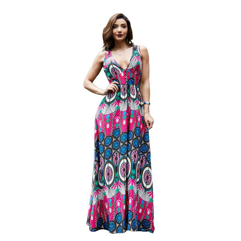 Comfortable and Soft Printed Dress
