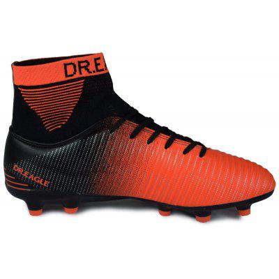 DR.Eagle TF Soccer Shoes Football BootsAthletic Shoes<br>DR.Eagle TF Soccer Shoes Football Boots<br><br>Available Size: 38,39,40,41,42,43,44,45<br>Closure Type: Lace-Up<br>Feature: Breathable<br>Gender: Unisex<br>Insole Material: PU<br>Lining Material: Cotton Fabric<br>Outsole Material: Rubber<br>Package Contents: 1 X Shoes, 1 X Shoes bag<br>Package Size(L x W x H): 30.00 x 20.00 x 10.00 cm / 11.81 x 7.87 x 3.94 inches<br>Package weight: 0.8000 kg<br>Pattern Type: Print<br>Product Size(L x W x H): 20.00 x 30.00 x 10.00 cm / 7.87 x 11.81 x 3.94 inches<br>Season: Spring/Fall<br>Shoe Width: Medium(B/M)<br>Upper Material: PU