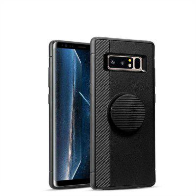 Expanding Pop airbag stent Carbon Fiber TPU Cover for Samsung Galaxy Note 8