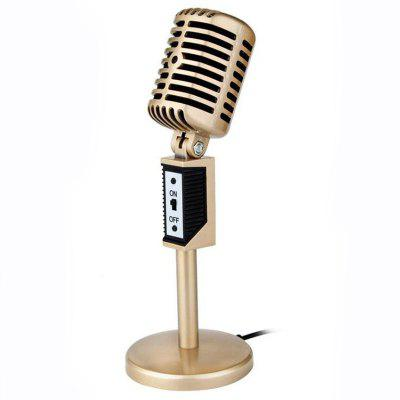 3.5mm Jack Stereo Recording Microphone Mic For Computer Laptop Voice Chat Microphones Desktop For Sing Chatting Karaoke