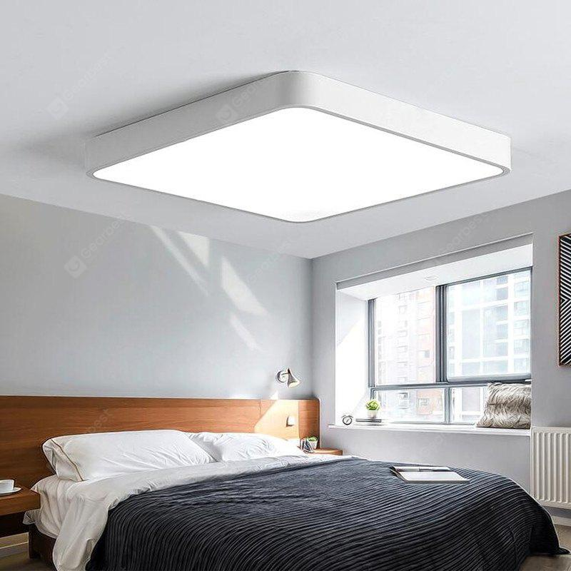 White frame 18 watts super thin modern simple bedroom balcony white frame 18 watts super thin modern simple bedroom balcony sitting room led ceiling lamp 30 mozeypictures Choice Image