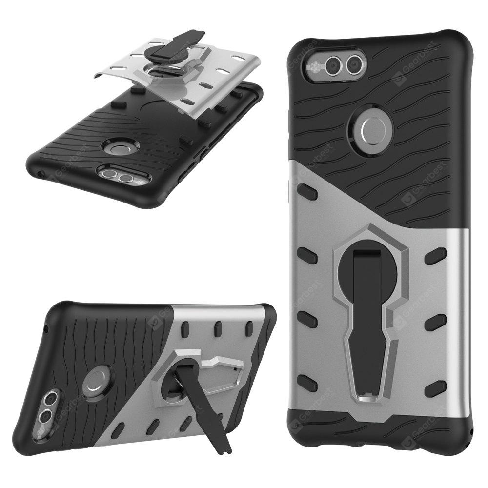 Hybrid Armour 360 Stand Cover TPU + PC Antichoc Case pour Huawei Honor 7X