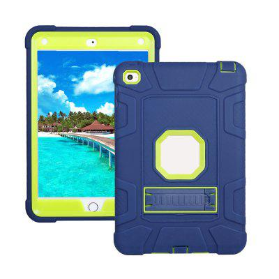 Anti-pó Removível 2-em-1 Shock Proof Protective Silicone + PC Kickstand Shell para iPad Mini 4