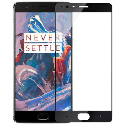 Tempered Glass Screen Protector Full Cover 9H 2.5D Ultra Thin Protective Film For Oneplus 3 / 3T