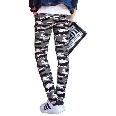 Fashion Camouflage MenS Casual Pants Long PantsMens Pants<br>Fashion Camouflage MenS Casual Pants Long Pants<br><br>Closure Type: Zipper Fly<br>Elasticity: Elastic<br>Fabric Type: Broadcloth<br>Fit Type: Skinny<br>Length: Normal<br>Material: Cotton<br>Package Contents: 1 X trousers<br>Package size (L x W x H): 1.00 x 1.00 x 1.00 cm / 0.39 x 0.39 x 0.39 inches<br>Package weight: 0.3500 kg<br>Pant Style: Pencil Pants<br>Pattern Type: Print<br>Style: Fashion<br>Thickness: Standard<br>Waist Type: Mid