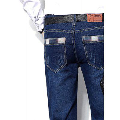 Fashion Business All-Match Men Jeans Casual Straight Pants Long PantsMens Pants<br>Fashion Business All-Match Men Jeans Casual Straight Pants Long Pants<br><br>Closure Type: Zipper Fly<br>Elasticity: Nonelastic<br>Fabric Type: Broadcloth<br>Fit Type: Straight<br>Length: Normal<br>Material: Jeans<br>Package Contents: 1 X jeans<br>Package size (L x W x H): 1.00 x 1.00 x 1.00 cm / 0.39 x 0.39 x 0.39 inches<br>Package weight: 0.4000 kg<br>Pant Style: Straight<br>Pattern Type: Solid<br>Style: Casual<br>Thickness: Standard<br>Waist Type: Mid