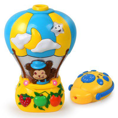 Baby RC Projektion Cartoon Ballon Form Sounding Baby Spielzeug