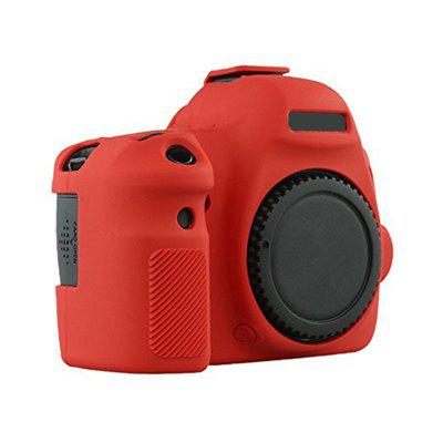 Soft Silicone Rubber Camera Protective Body Cover Case Skin for Canon 6D Camera Bag